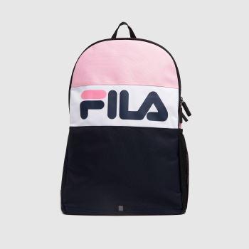 Fila Navy & White Rodney Medium Backpack Bags
