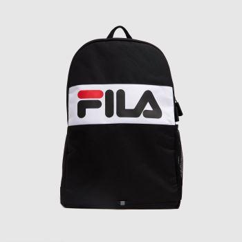 Fila Black & White Camsi Medium Backpack Bags