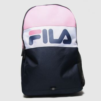 Fila Navy & White Rodney Backpack Bags#