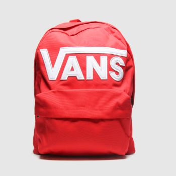 Vans Red Old Skool Iii Backpack c2namevalue::Bags