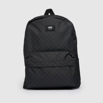 Vans Black & Grey Old Skool Iii Backpack Bags