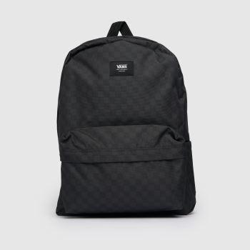 Vans Schwarz-Grau Old Skool Iii Backpack Taschen