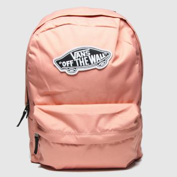 Vans Pale Pink Realm Backpack Bags#