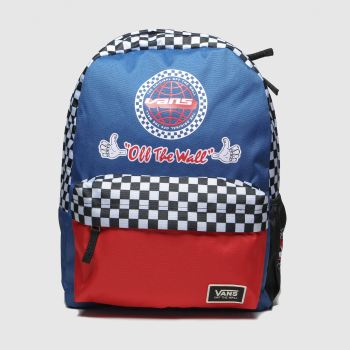 Vans Navy & Red Bmx Backpack Bags