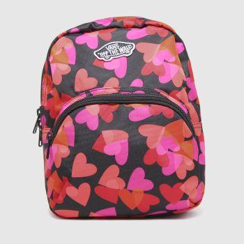 Vans Black & Red Got This Mini Backpack Bags
