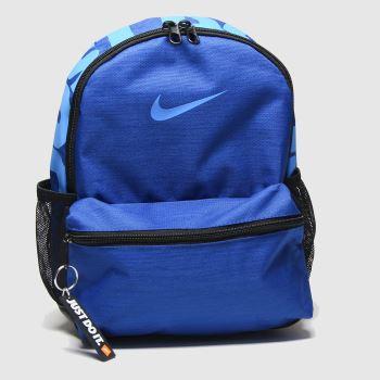 Nike Blue Kids Brasilia Jdi Bags#