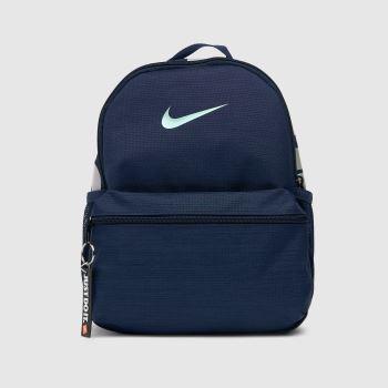 Nike Navy Kids Brasilia Jdi Backpack Bags
