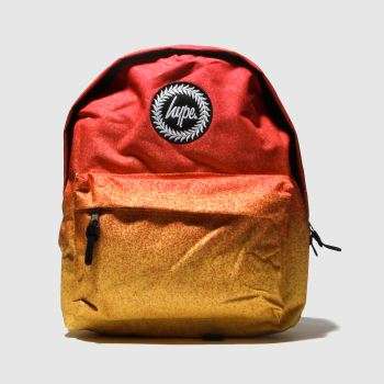 Hype Orange Speckle Fade Bags
