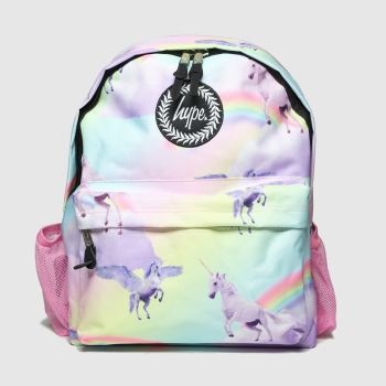 Hype Pale Pink Backpack With Bottle Holder Bags