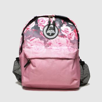 Hype Pink Backpack With Bottle Holder Bags