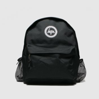 Hype Black Backpack With Bottle Holder Bags