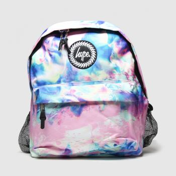 Hype Pink Backpack With Bottle Hold c2namevalue::Bags