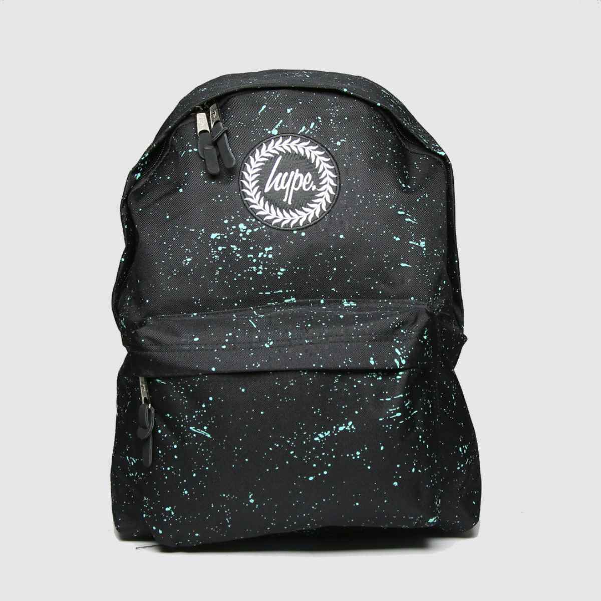Accessories Hype Black & Green Backpack