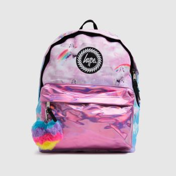 Hype Multi Unicorn Holographic Backpack Bags