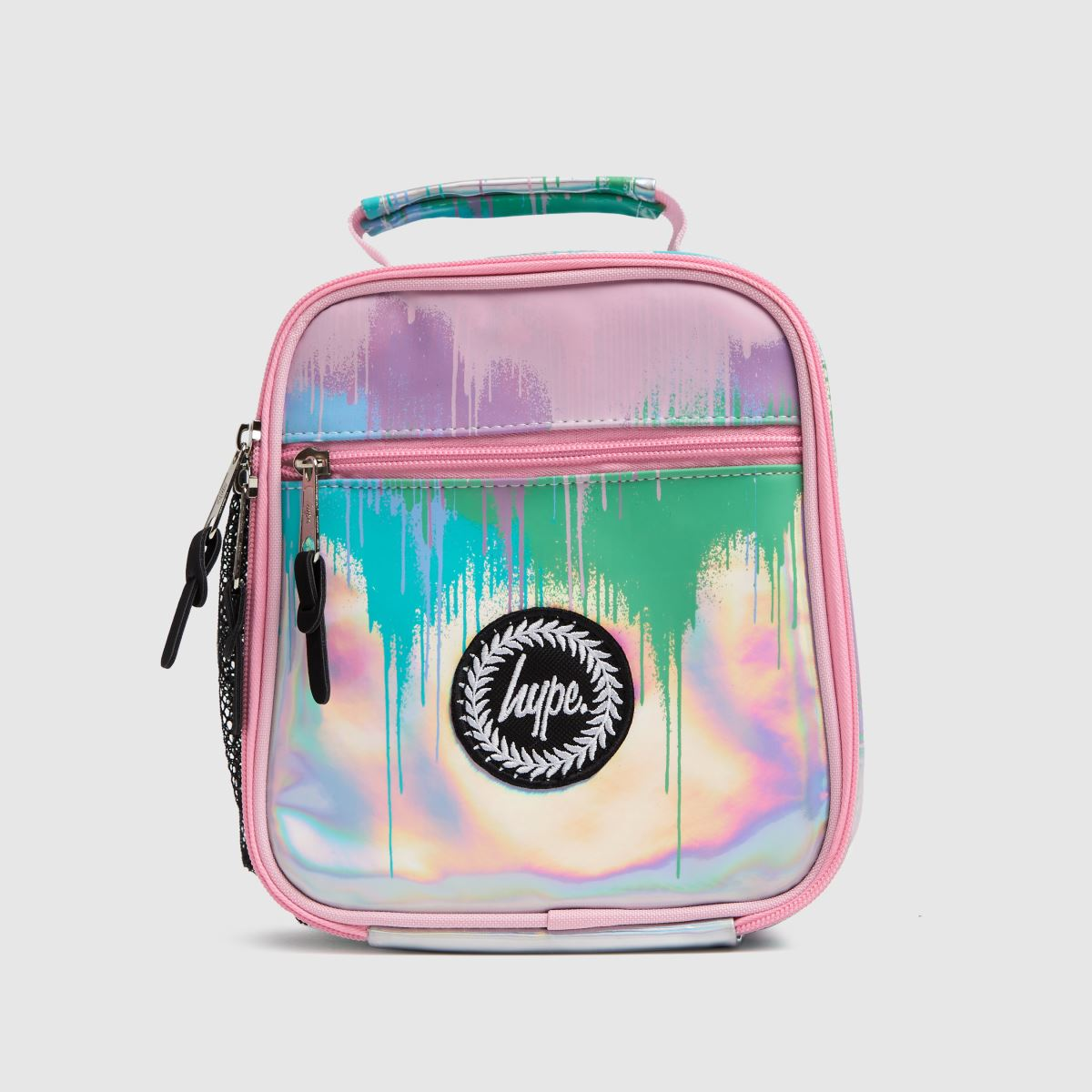 Hype Multi Holo Drops Lunch Bag