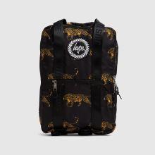 Hype Black Leopard Boxy Backpack 1