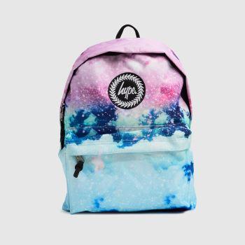 Hype Multi Glitter Skies Backpack Bags