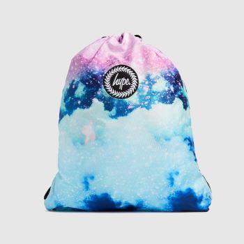 Hype Multi Glitter Skies Drawstring Bag Bags