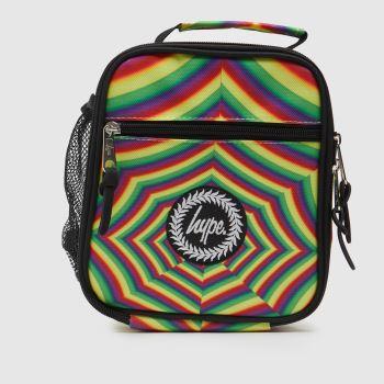 Hype Multi Optical Rainbow Lunch Bag Accessory