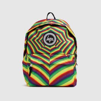 Hype Multi Optic Rainbow Backpack Bags