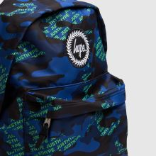 Hype Neon Logo Camo Backpack 1