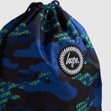 Hype Neon Logo Drawstring Bag,2 of 4