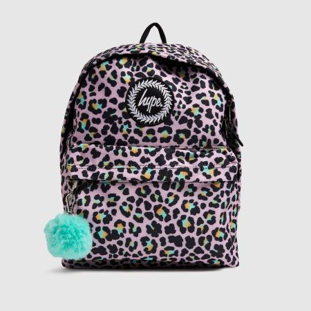 Hype Disco Leopard Backpacktitle=