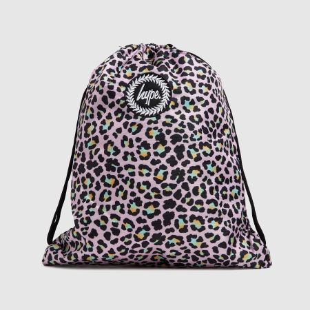Hype Disco Leopard Drawstring Bagtitle=