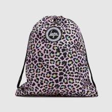 Hype Disco Leopard Drawstring Bag,1 of 4