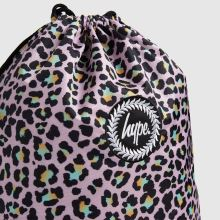Hype Disco Leopard Drawstring Bag,2 of 4