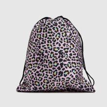Hype Disco Leopard Drawstring Bag,3 of 4