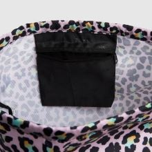 Hype Disco Leopard Drawstring Bag,4 of 4
