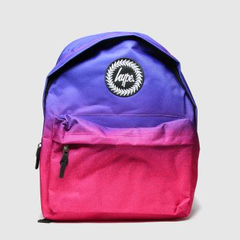Hype Multi Visage Fade Backpack Bags#