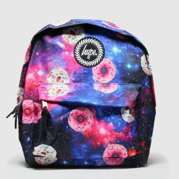 Hype Multi Donut Galaxy Backpack Bags