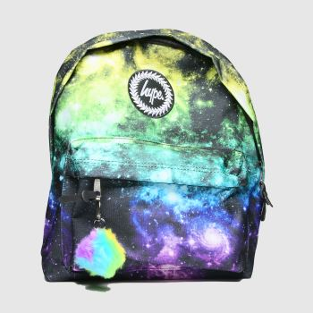 Hype Multi Rainbow Space Backpack Bags