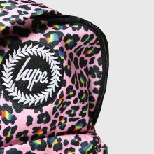 Hype Rainbow Leopard Backpack 1
