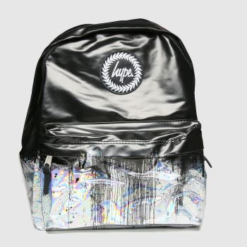 Hype Multi Holo Drips Backpack Bags