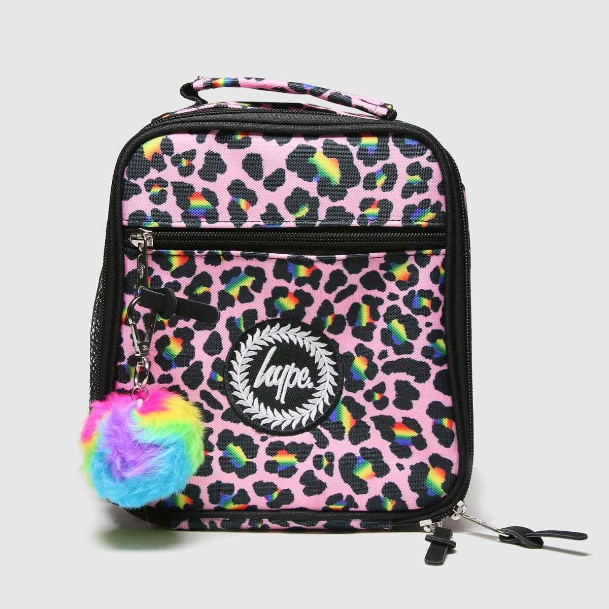 Accessories Hype Multi Rainbow Leopard Lunchbox