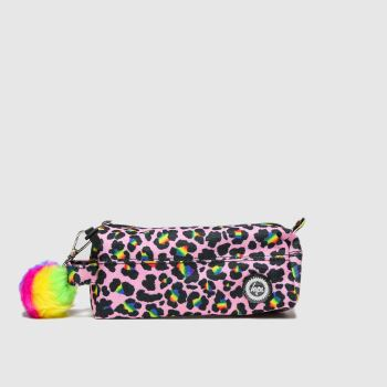 Hype Multi Rainbow Pencil Case Bags
