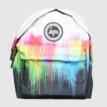 Hype multi multi drips backpack
