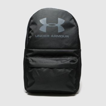 Under Armour Black & White Loudon Backpack Bags