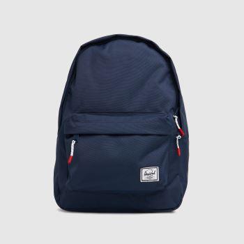 HERSCHEL Navy Classic Backpack Bags