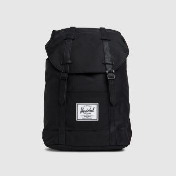 HERSCHEL Black Retreat Backpack Bags
