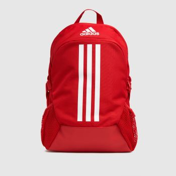 adidas Red Kids Power V Backpack Bags