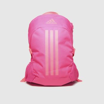 adidas Pink Kids Power 5 Backpack Bags