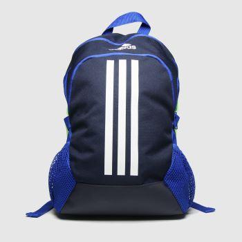 adidas Marineblau-Weiß Kids Power 5 Backpack Taschen