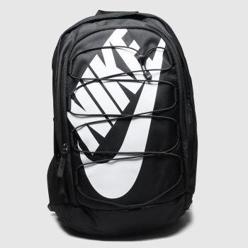 Nike Black & White Hayward 2.0 Backpack Bags