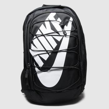 Nike Schwarz-Weiß Hayward 2.0 Backpack Taschen