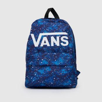 Vans Blue New Skool Backpack Bags