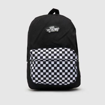 Vans Black & White New Skool Backpack Bags